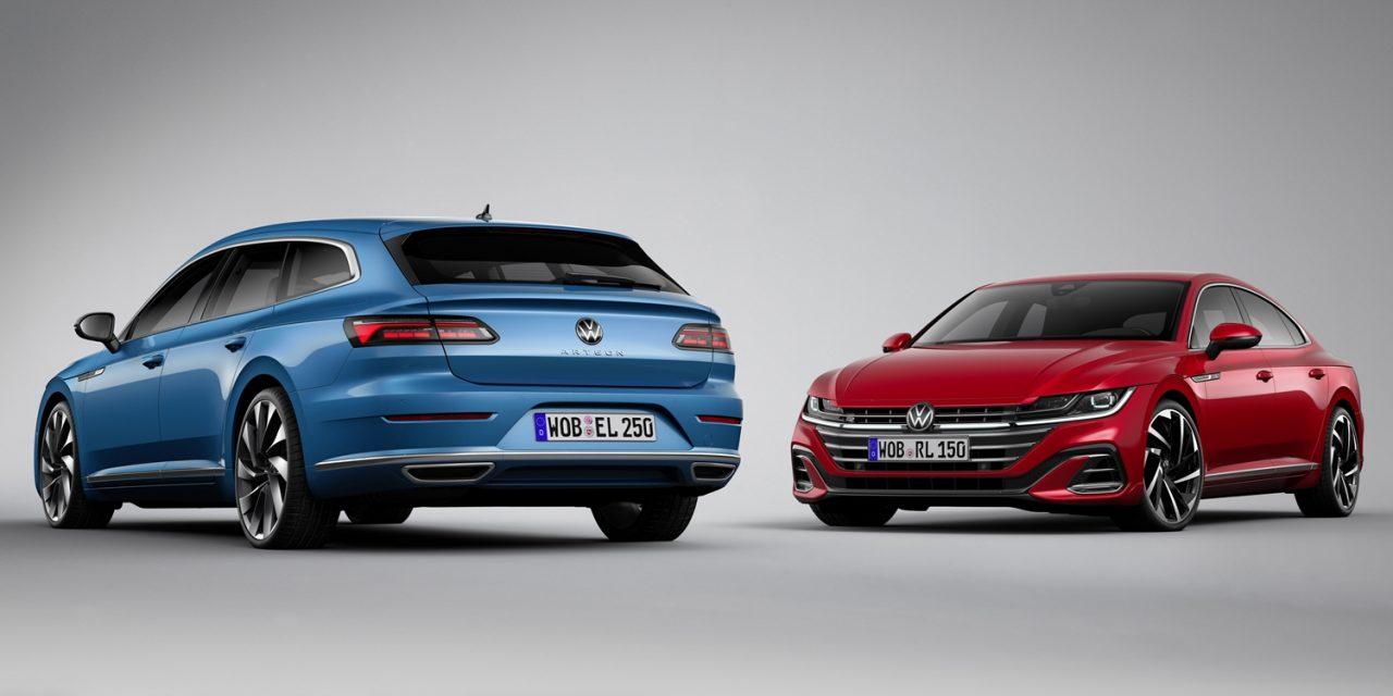 Makyaj bahane: VW Arteon ve Arteon Shooting Brake