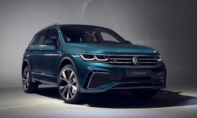 Makyajıyla karşınızda: VW Tiguan