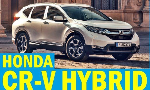Satışa sunuldu: Honda CR-V Hybrid